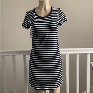 Michael Kors basics - black stripes dress size XS
